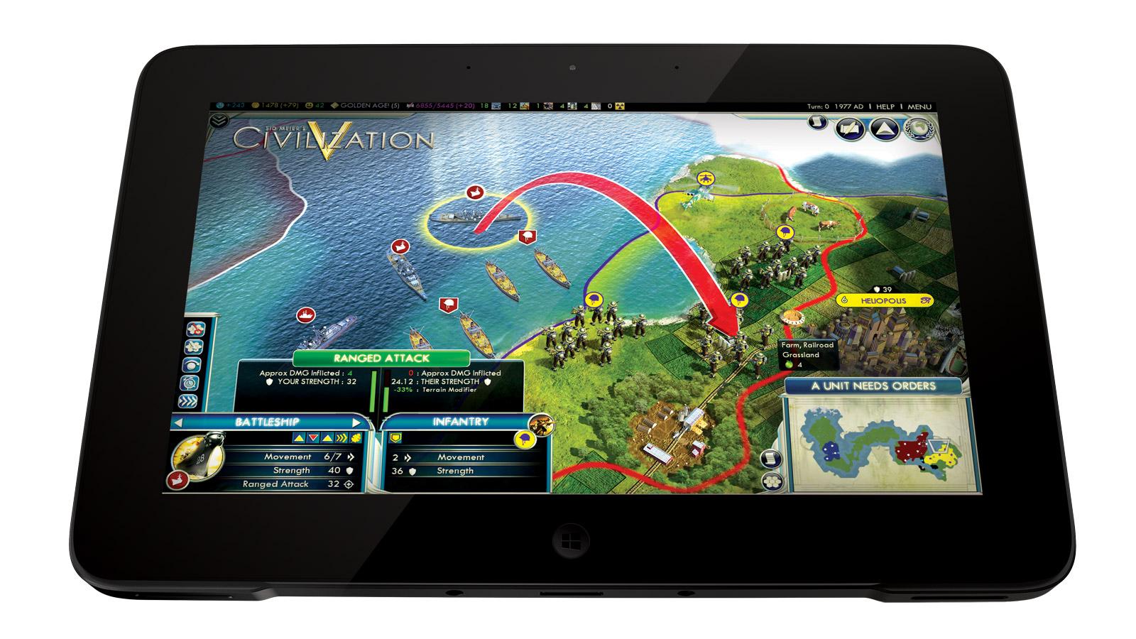 Razor Edge Tablet PC